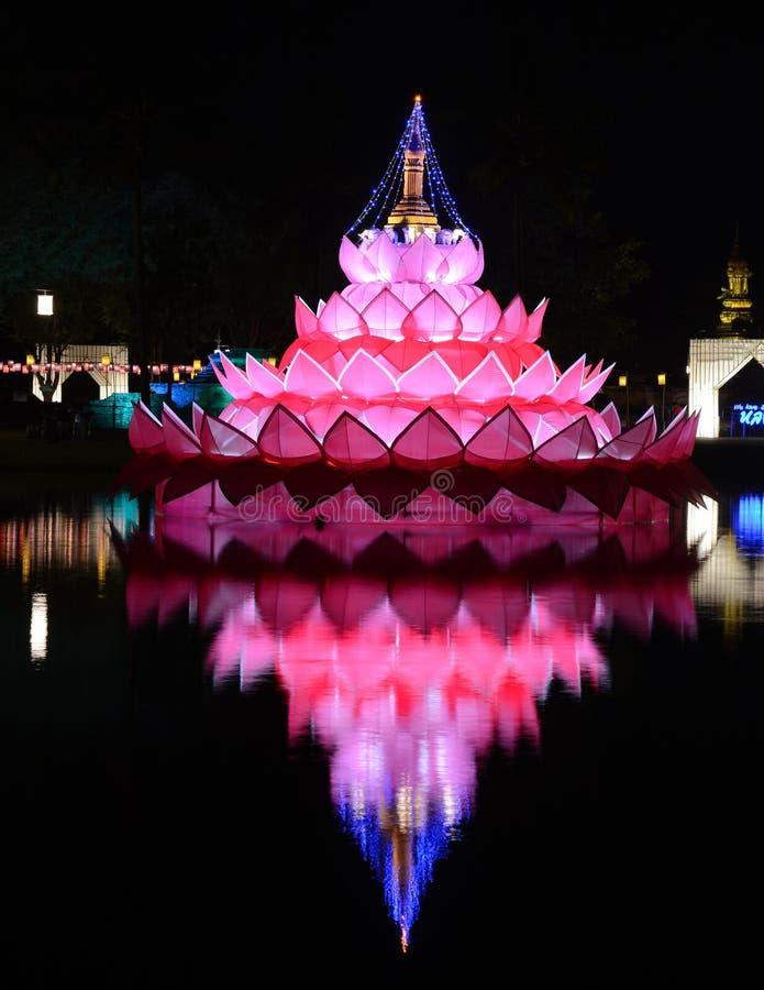 Festival do kratong de Loy fotografia de stock royalty free