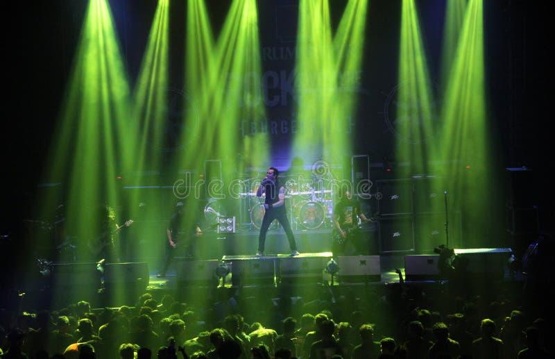 Festival do metal da música imagens de stock royalty free