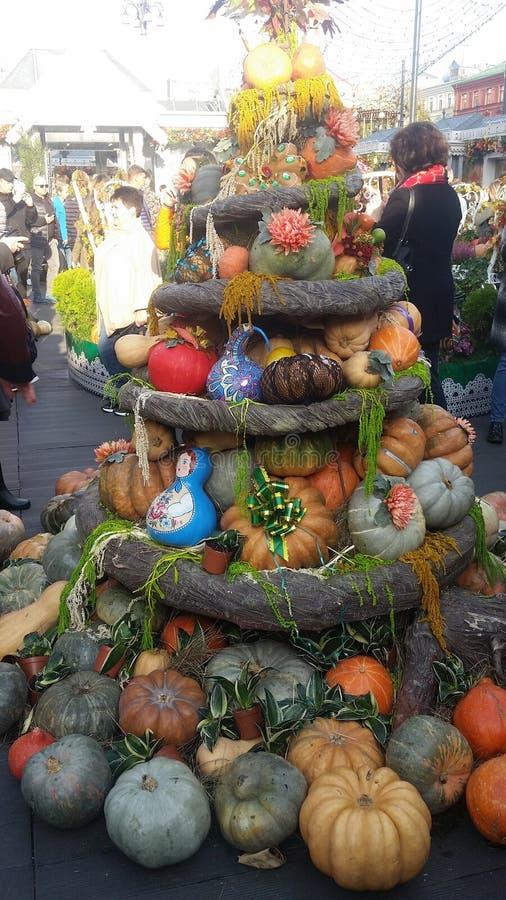 Festival do outono da abóbora fotografia de stock