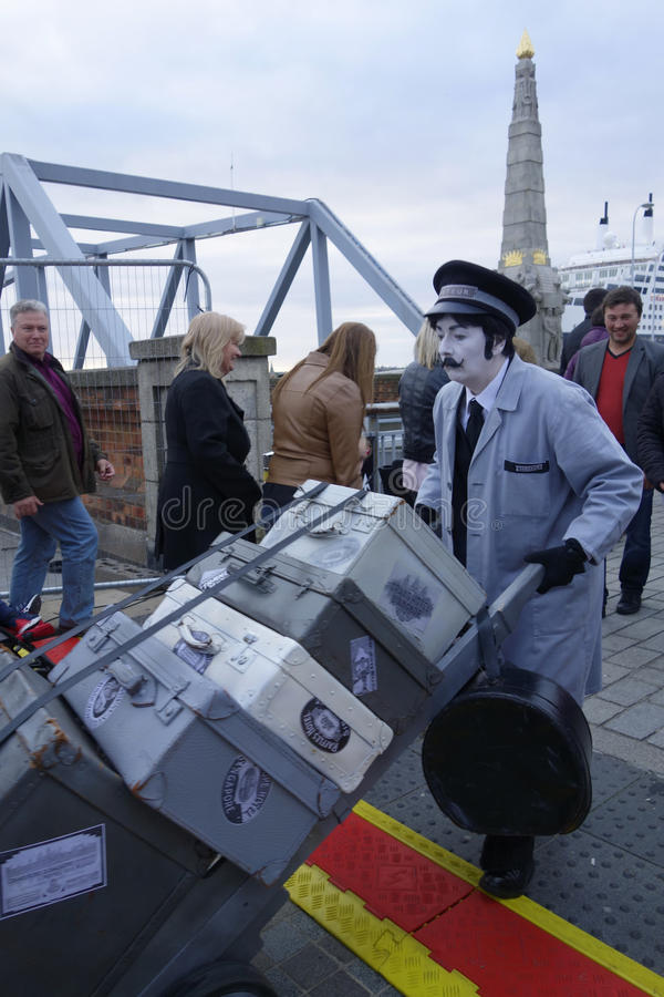 Festival do rio de Mersey foto de stock