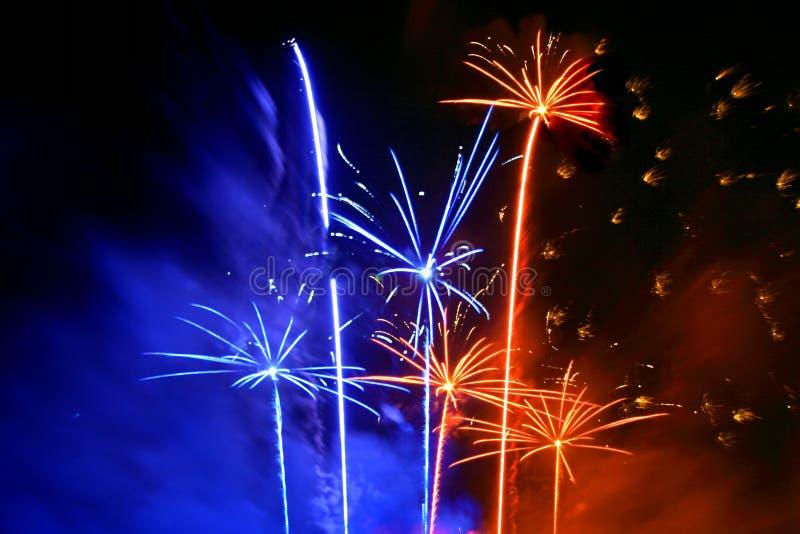 Festival dos fogos-de-artifício imagens de stock royalty free