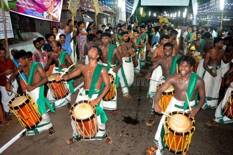 Festival du Kerala photographie stock libre de droits