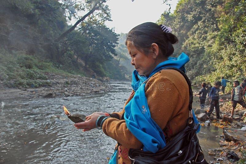 Festival du Népal photos libres de droits