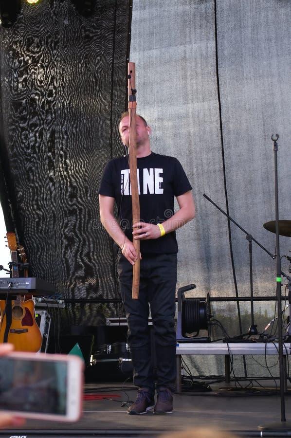 Festival engraçado 2017 de Baska imagem de stock royalty free
