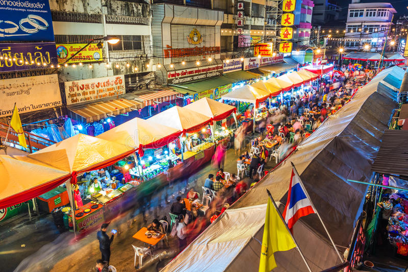 Festival 2016 för Chiang Mai porslinstad arkivfoton