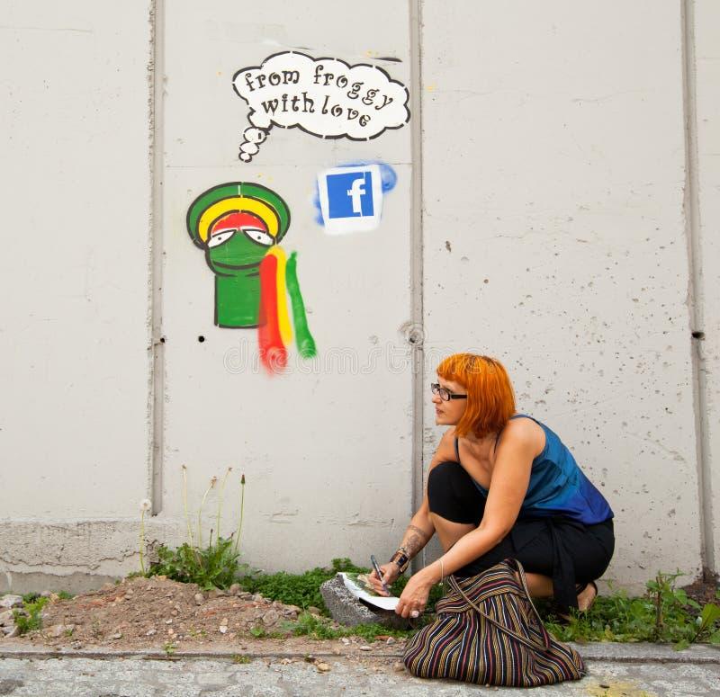 Festival för Katowice gatakonst royaltyfri fotografi