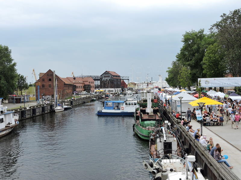 Festival för Klaipeda stadshav arkivfoto
