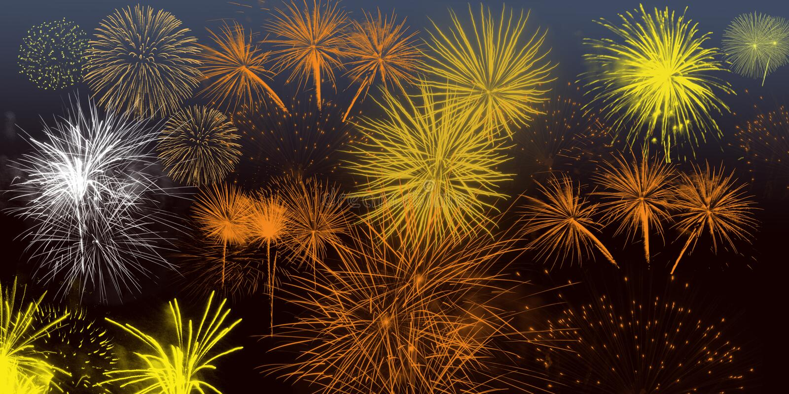 Festival Fireworks Background Wallpaper Poster Banner Graphics New Year Christmas Diwali stock photo