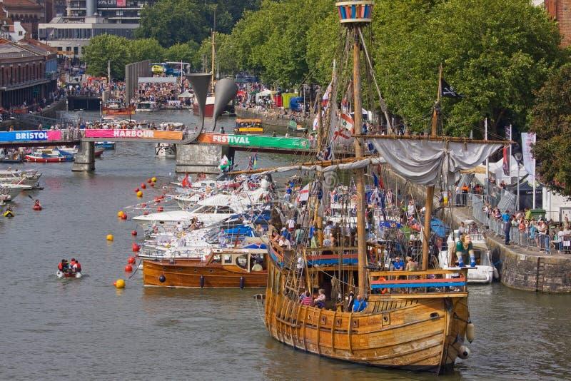 Festival-Flotte stockbild