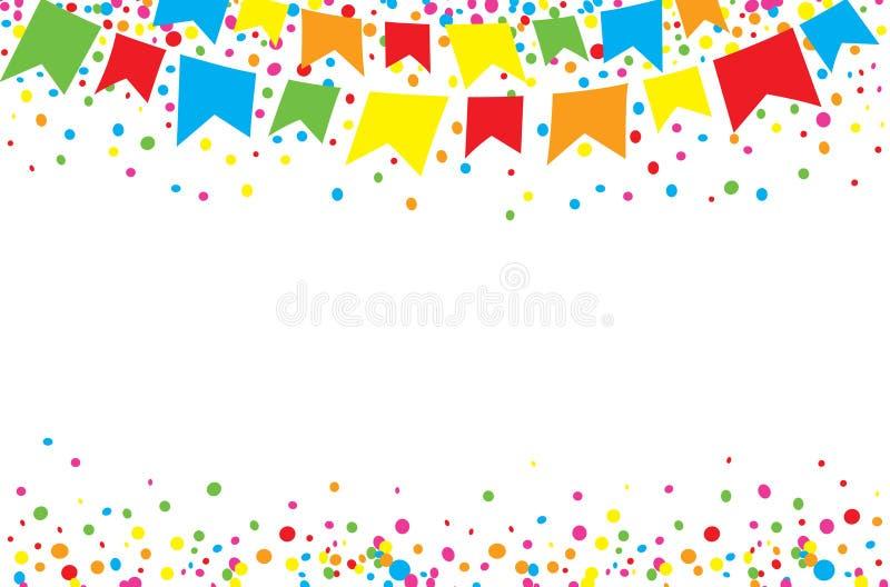 Festival heureux de juin au jour illustration libre de droits