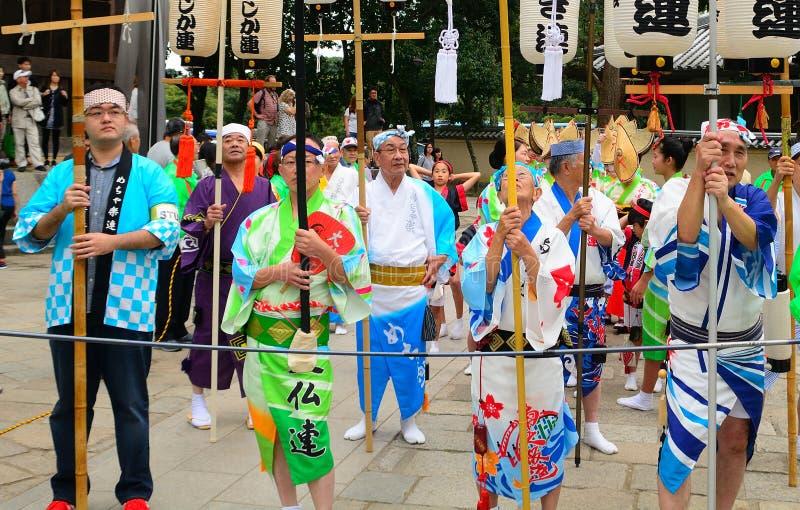 Festival historique, Nara, Japon images stock