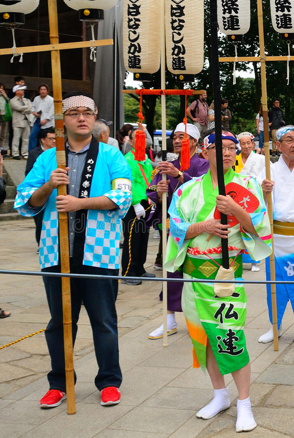 Festival historique, Nara, Japon image libre de droits