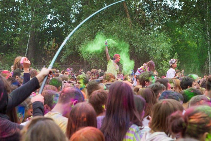 Festival indiano das cores imagens de stock