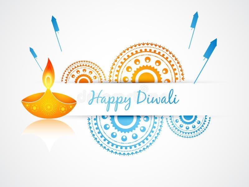 Festival indiano do diwali ilustração royalty free