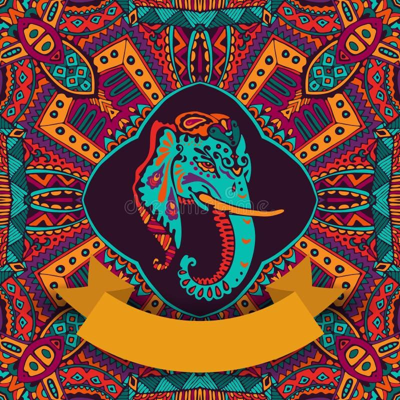 Festival indiano hindu ilustração stock