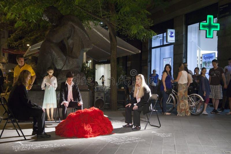 Festival internacional da dança contemporânea imagem de stock royalty free