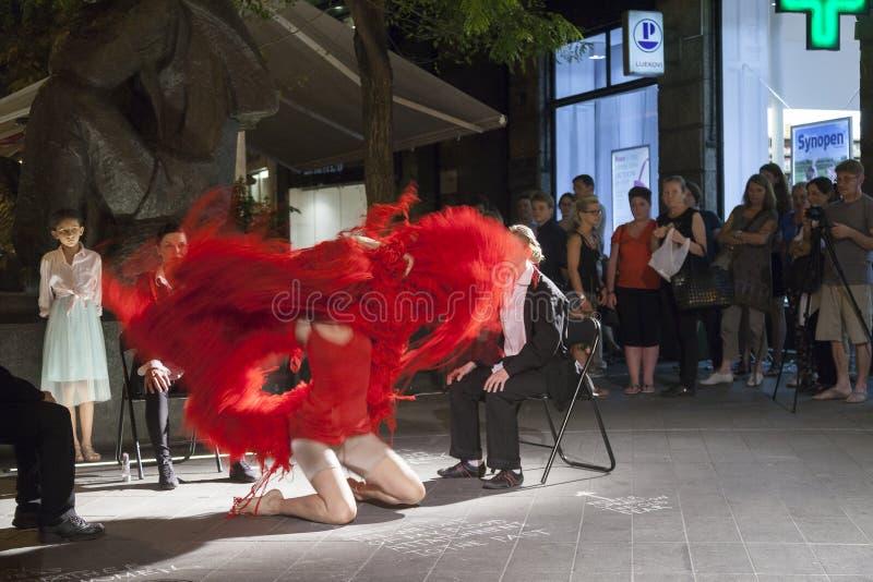 Festival internacional da dança contemporânea imagens de stock