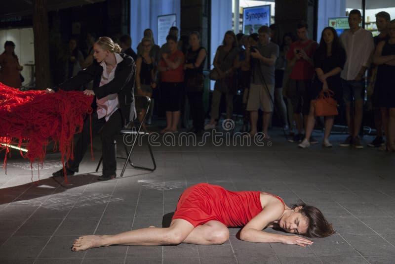 Festival internacional da dança contemporânea fotografia de stock royalty free