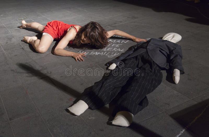Festival internacional da dança contemporânea imagens de stock royalty free