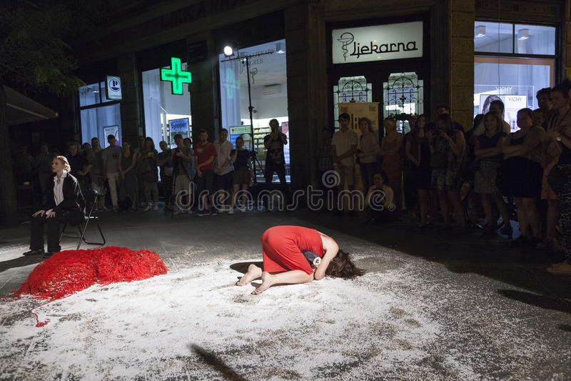 Festival internacional da dança contemporânea fotos de stock