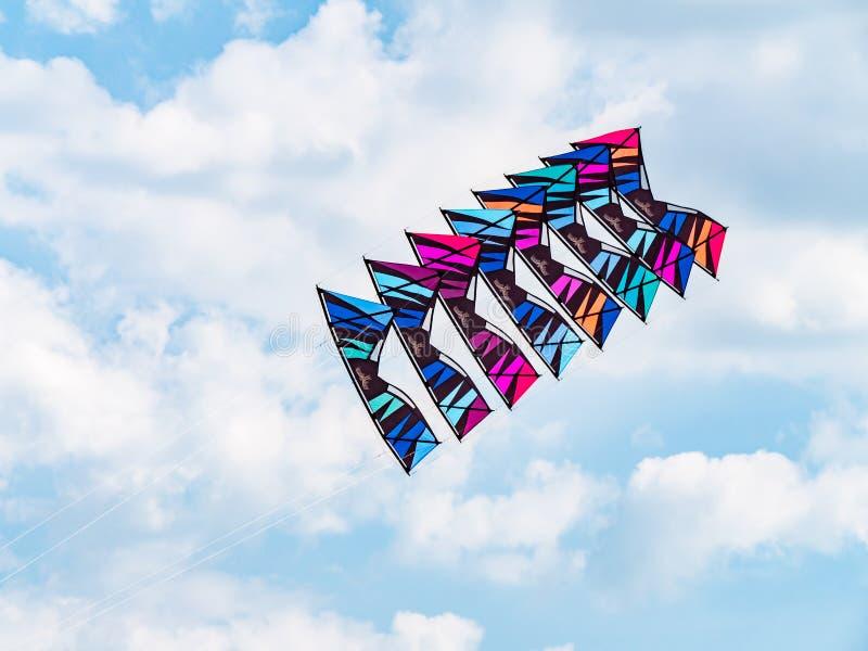 Festival international de cerf-volant de Satun, Thaïlande 2019 photographie stock libre de droits