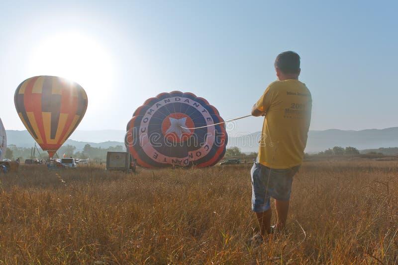 Festival international Montgolfeerie de ballon photo stock