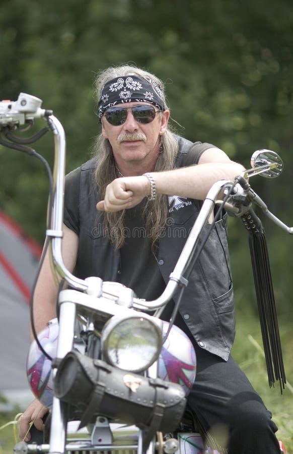 Festival internazionale annuale dei motociclisti fotografia stock