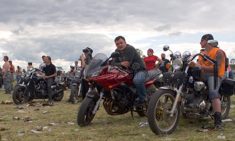 Festival internazionale dei motociclisti fotografia stock libera da diritti