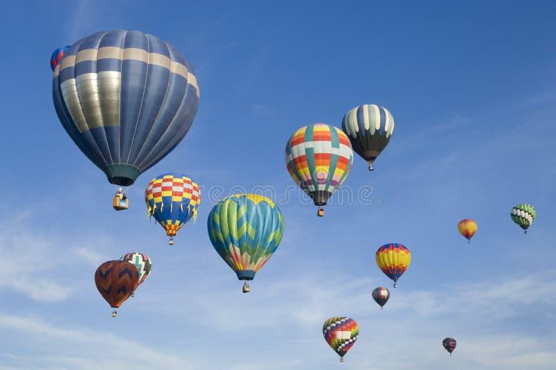 Festival internazionale dell'aerostato di Albuquerque fotografia stock libera da diritti