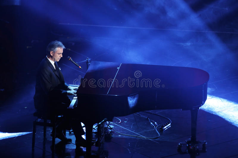 Festival of the Italian Song, Sanremo 2013 stock photo