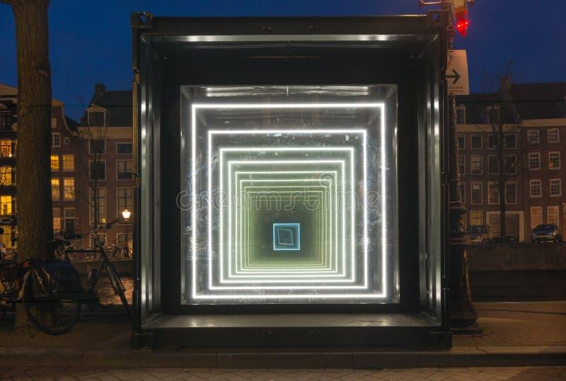 Festival léger d'Amsterdam photographie stock libre de droits