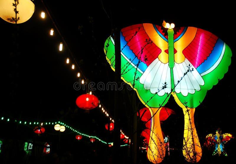 Festival of lanterns royalty free stock photography