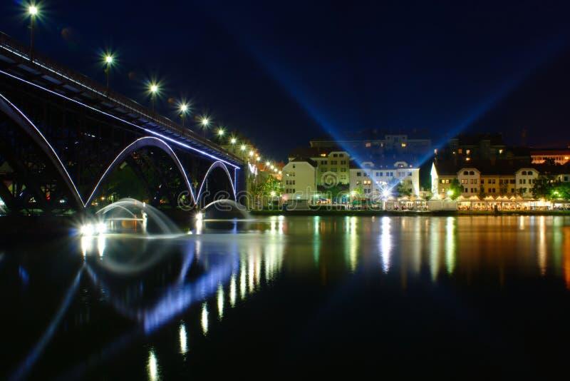 Festival Lent in Maribor. Summer Festival Lent on the Banks of Drava River in Maribor, Slovenia stock photography
