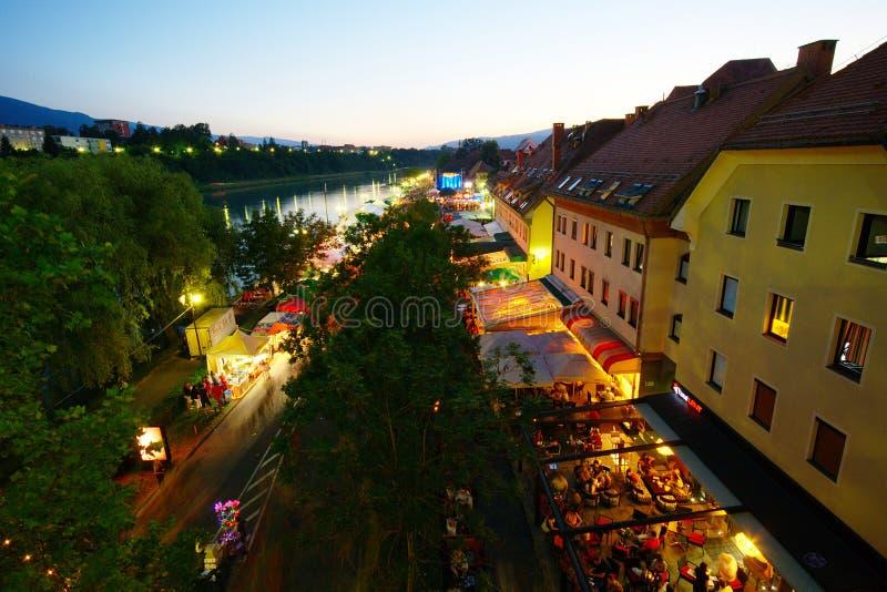 Festival Lent in Maribor stock photos
