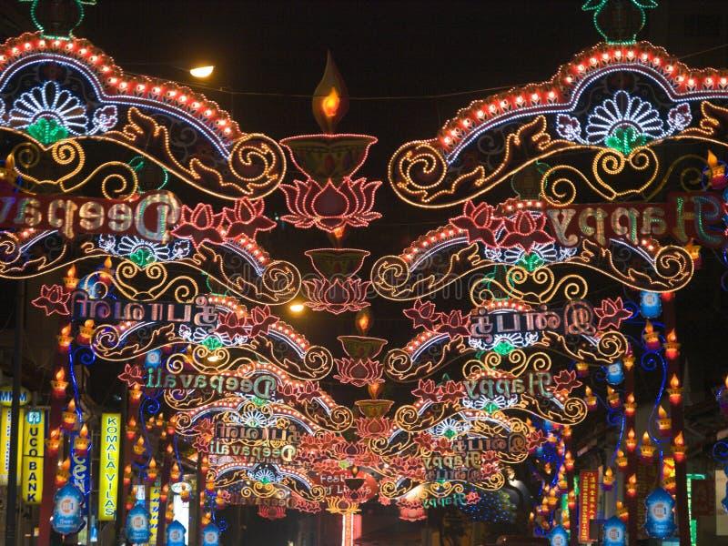 festival lights στοκ φωτογραφίες