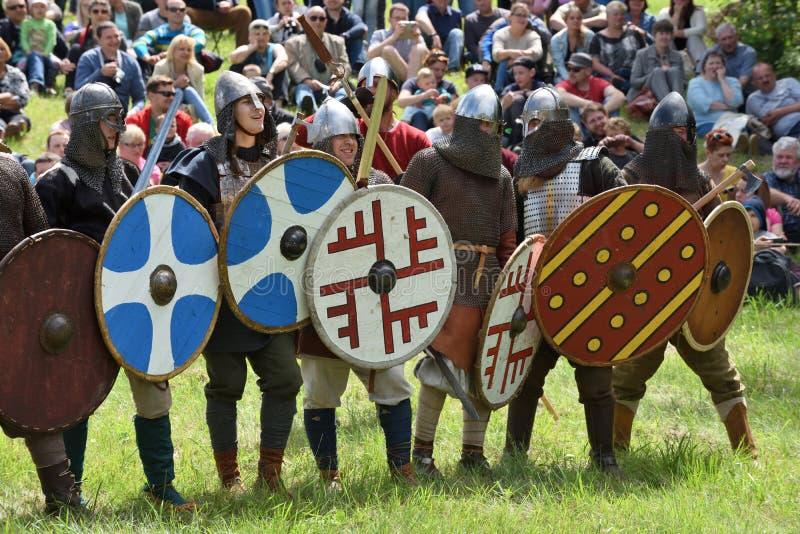 Festival medieval das lutas foto de stock royalty free