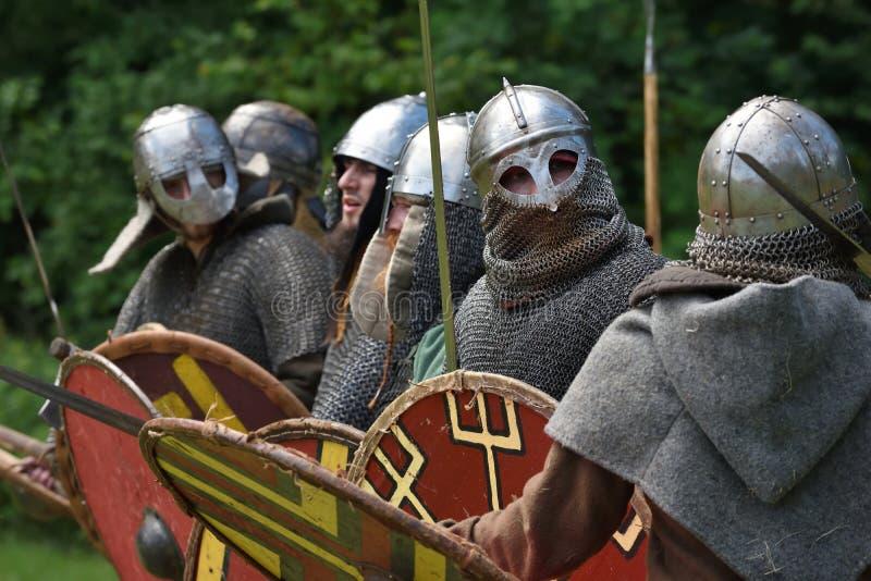 Festival medieval das lutas foto de stock