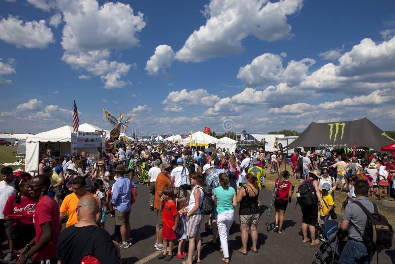 Festival montant en ballon de New Jersey dans Whitehouse Station photo stock