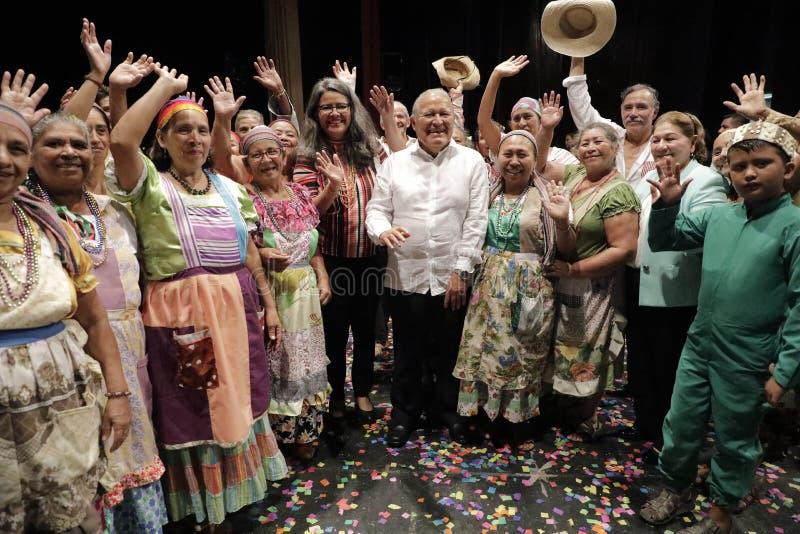 Festival Nacional de Teatro Infantil de Inauguracià ³ n de segundo fotografia de stock