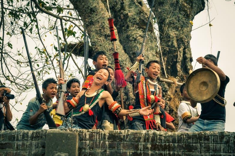 Festival in Nagaland lizenzfreie stockfotografie