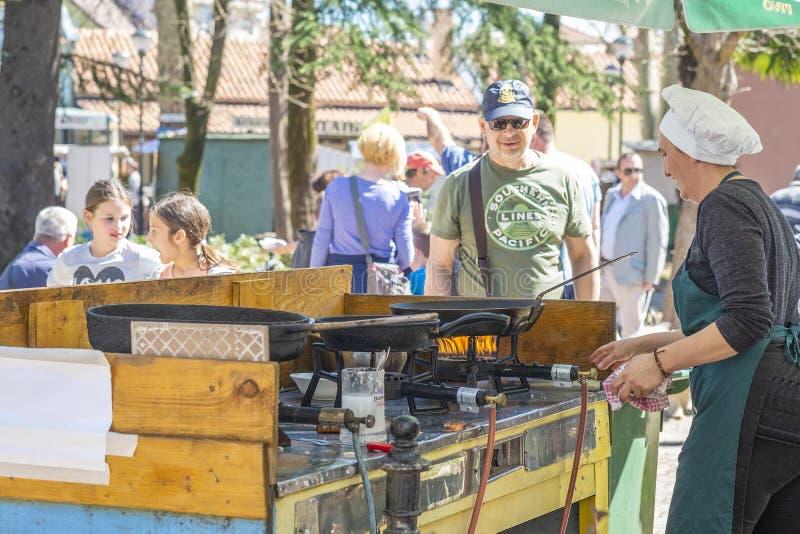 Festival national de vin et des poissons photo libre de droits