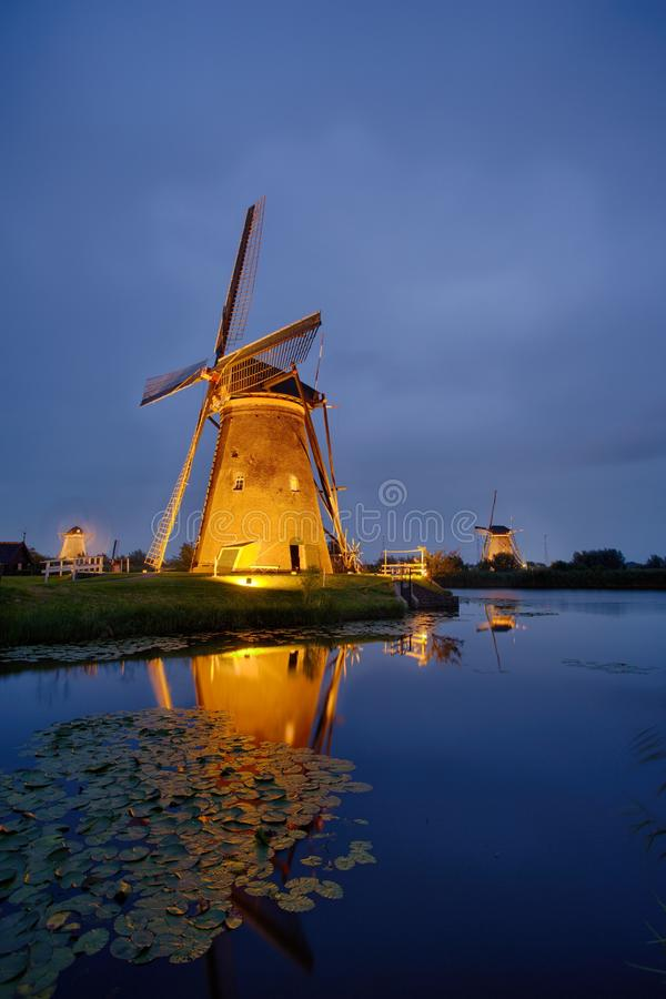 Free Festival Of Light At Kinderdijk Royalty Free Stock Photos - 103951588