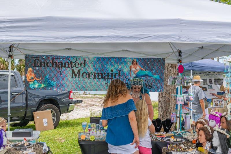 Festival oublié de tortue de mer de côte photos libres de droits