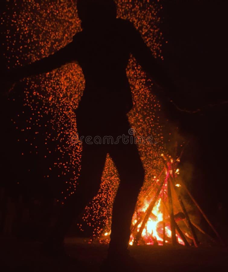 Festival pagano de la noche de Walpurgis imagen de archivo libre de regalías