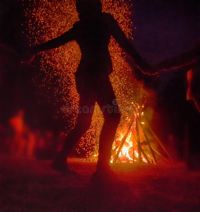 Festival pagano de la noche de Walpurgis fotos de archivo libres de regalías