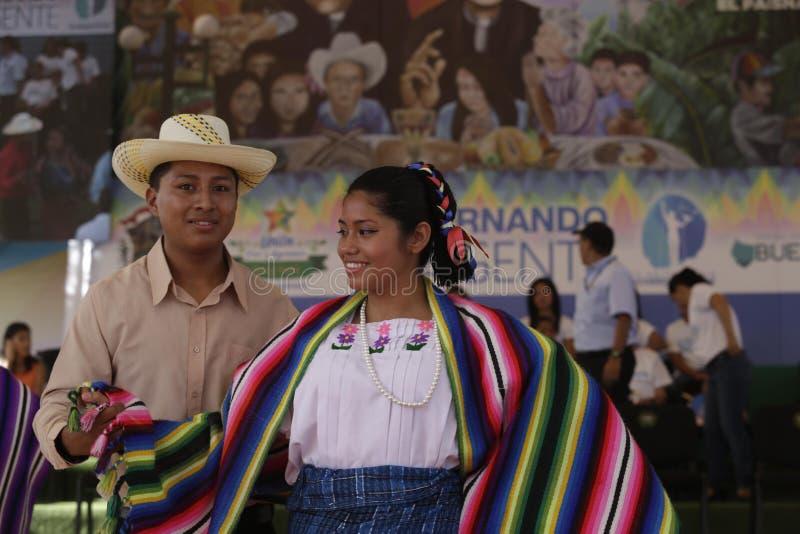 Festival para el buen vivir y Gobernando con la Gente-El Paisnal imagem de stock
