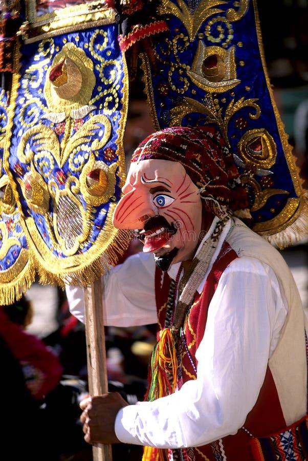 Festival Perù fotografia stock