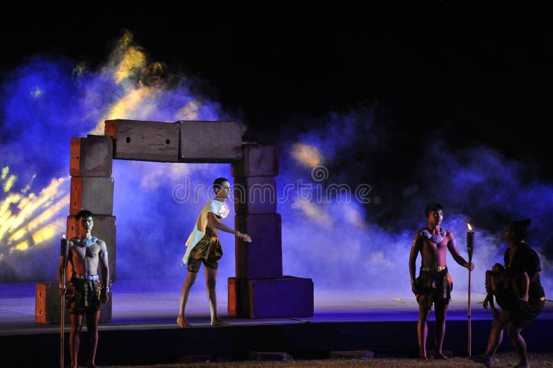 Festival Phimai 2019 au parc historique de Phimai photos stock