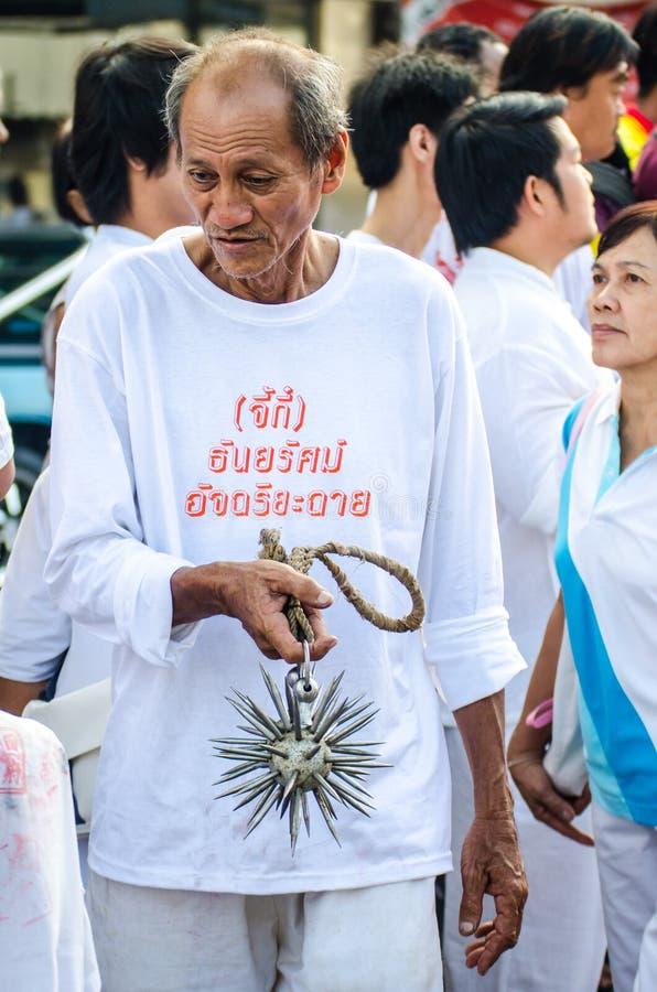 Festival Phuket Vegeterian lizenzfreies stockfoto