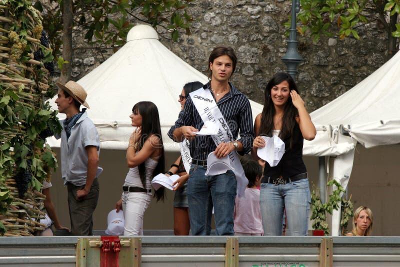 Festival Pratola Peligna der Trauben lizenzfreie stockfotografie